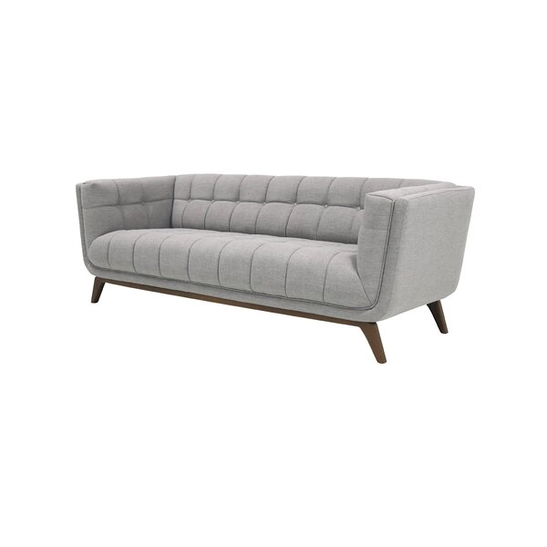 Cool Worsley Mid Century Modern Chesterfield Sofa by George Oliver by George Oliver