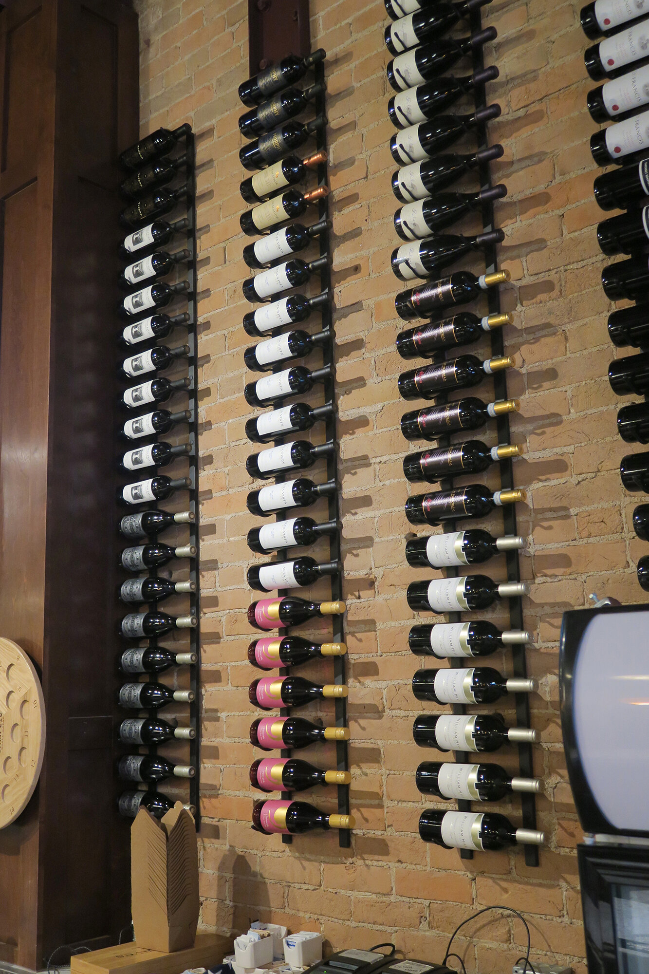 Rebrilliant Indurial 21 Bottle Wall Mounted Wine Rack
