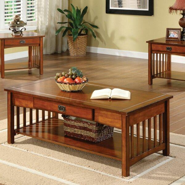 Ruppert 3 Piece Coffee Table Set by Loon Peak Loon Peak®