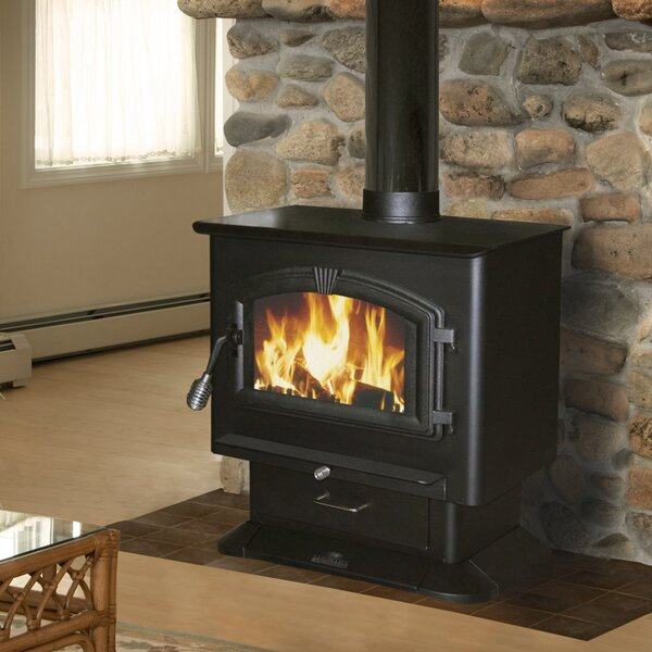 2,000 sq. ft. Direct Vent Wood Stove by United States Stove Company