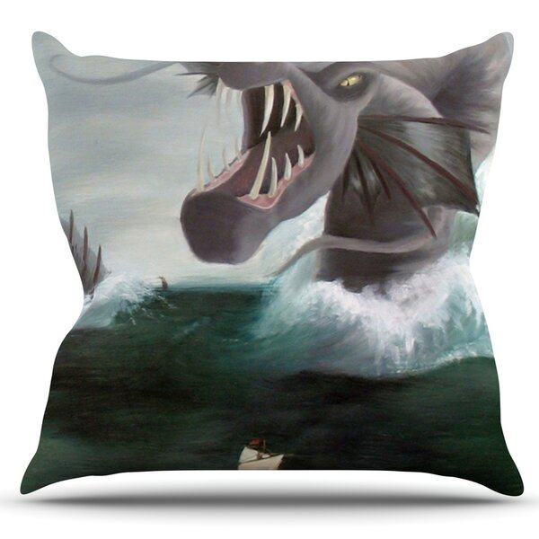 Vessel by Sophy Tuttle Outdoor Throw Pillow by East Urban Home