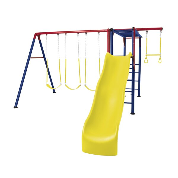 Monkey Bar Adventure Swing Set by Lifetime