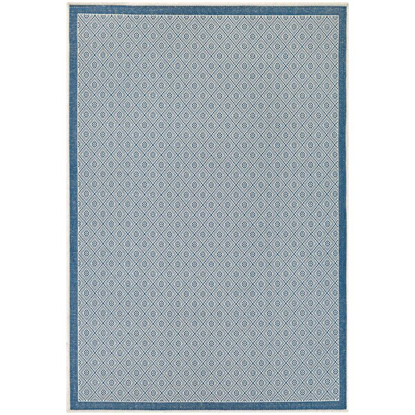 Wexford Blue Indoor/Outdoor Area Rug by Beachcrest Home