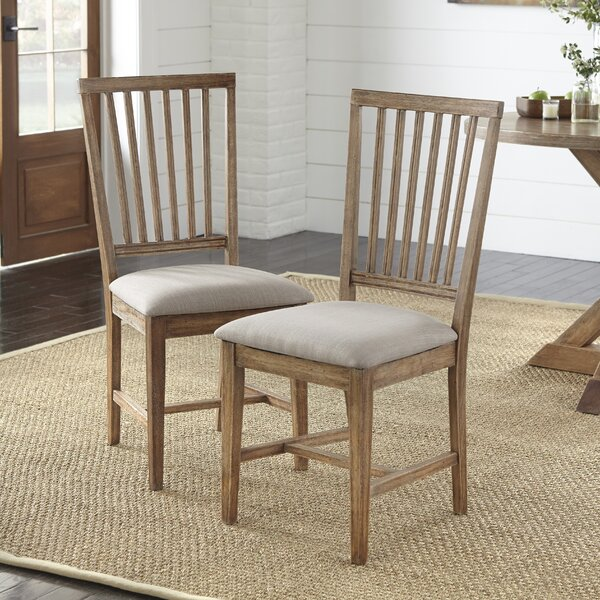 Skyview Upholstered Dining Chair (Set of 2) by Ophelia & Co.