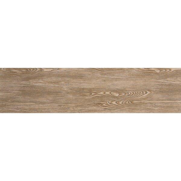 Alpine 6 x 36 Porcelain Wood-Look Plank Tile in Amaretto by Emser Tile