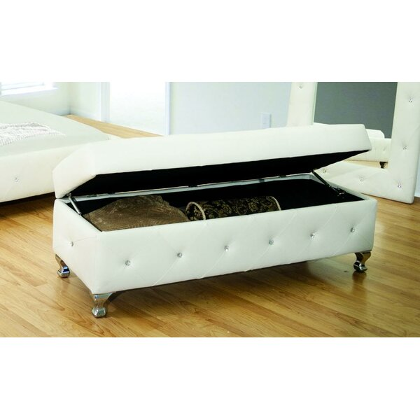 Wood Storage Bench by BestMasterFurniture