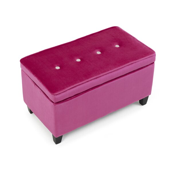 Jaelynn Upholstered Storage Bench by Harriet Bee