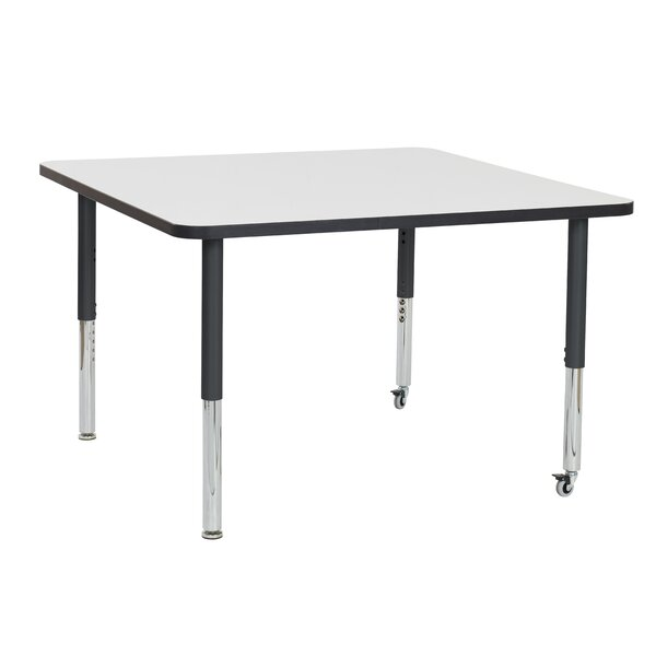 Dry-Erase Adjustable 48Square Activity Table by ECR4kids