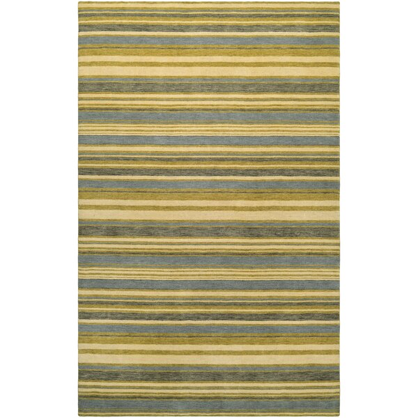 Russell Hand-Knotted Area Rug by Breakwater Bay
