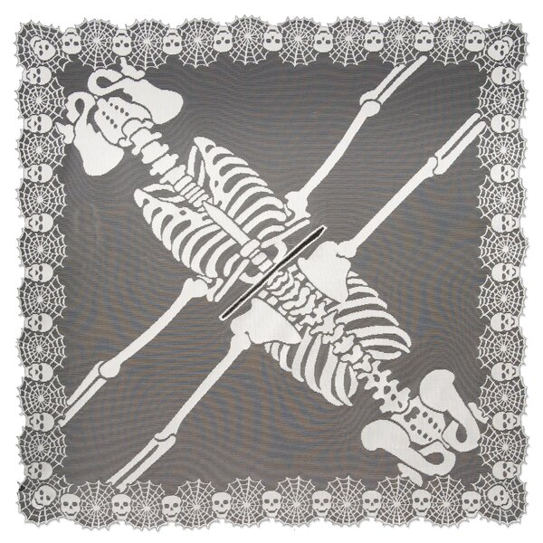 Skeleton Poncho by The Holiday Aisle