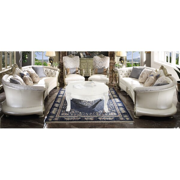 Review Makenzie 4 Piece Living Room Set