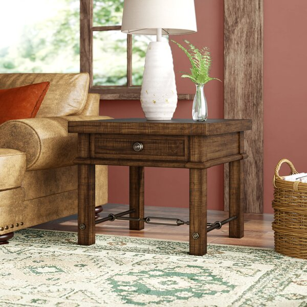 Diez End Table by Loon Peak