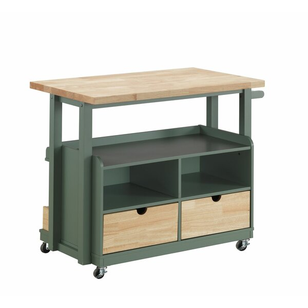 Samiyah Kitchen Cart by Highland Dunes