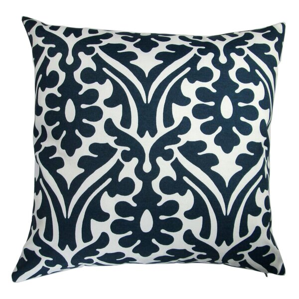 Galiano Modern Damask Indoor/Outdoor Pillow Cover (Set of 2) by Bungalow Rose