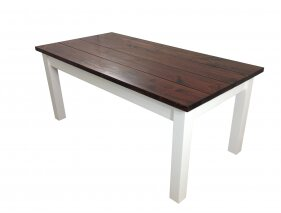 Solid Wood Dining Table by Ezekiel and Stearns