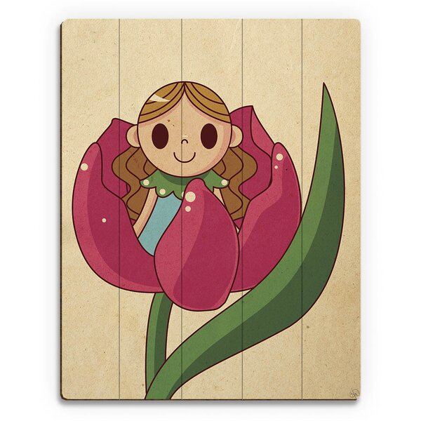 Thumbelina Graphic Art on Plaque by Click Wall Art