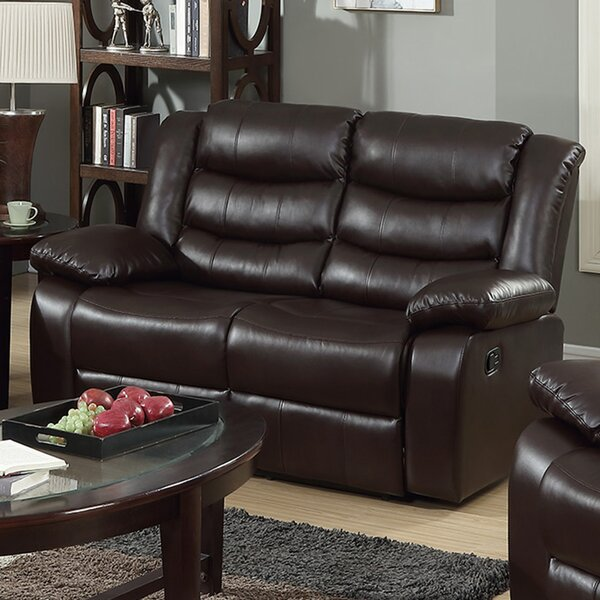 New Trendy Living Room Recliner Loveseat by Red Barrel Studio by Red Barrel Studio