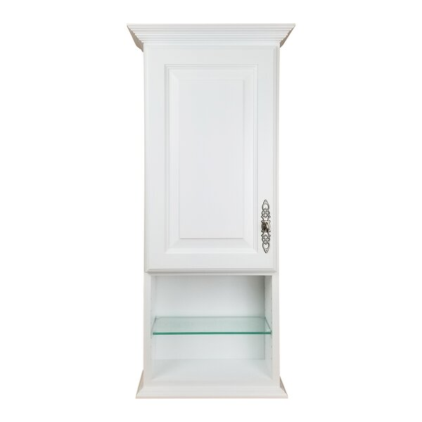 Atlanta Series 15.5'' W x 27.5'' H Wall Mounted Cabinet by WG Wood Products