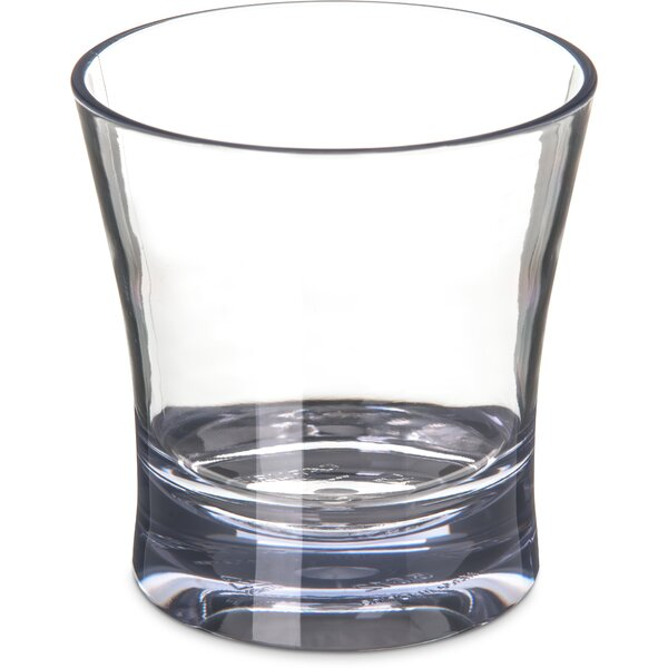 Alibi™ Plastic Double 12 oz. Old Fashioned Glass (Set of 4) by Carlisle Food Service Products
