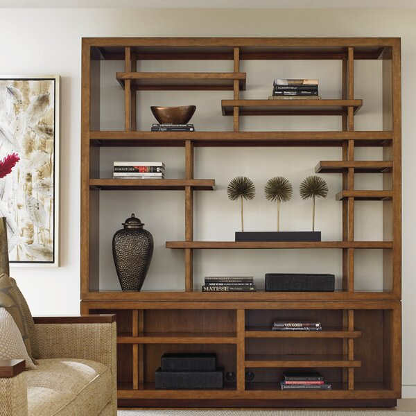 Island Fusion Taipei Media Oversized Set Bookcase by Tommy Bahama Home