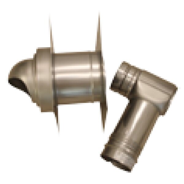 Single-Wall with Horizontal Termination Vent Kit by Noritz
