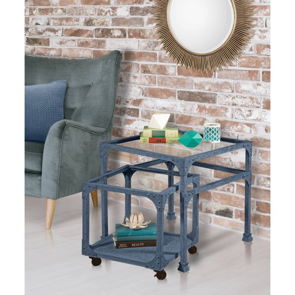 Valmar 2 Piece Nesting Tables by Williston Forge Williston Forge