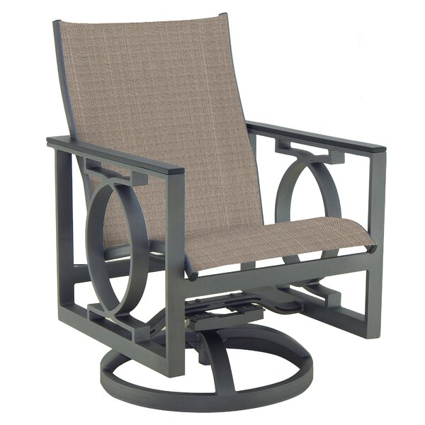 Sunrise Sling Swivel Rocking Chair by Leona