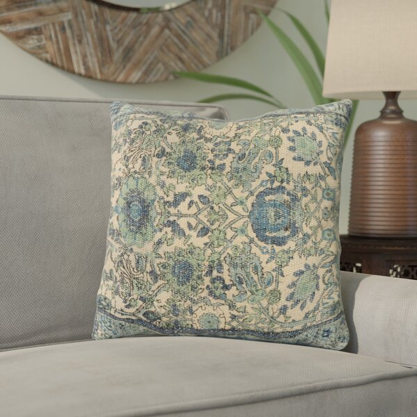 Zaqaria Square Throw Pillow by Bungalow Rose