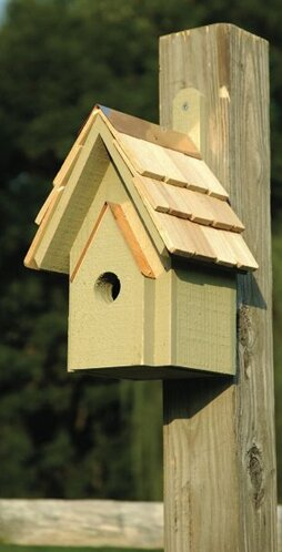 Classic 12 in x 6 in x 6 in Birdhouse by Heartwood