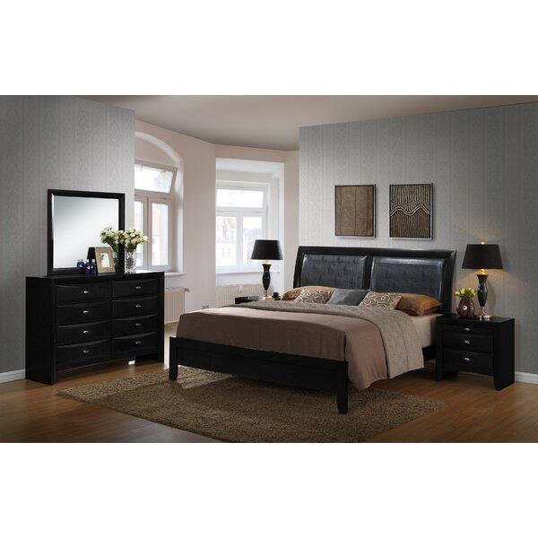 Plumwood Platform Solid Wood 5 Piece Bedroom Set by Red Barrel Studio