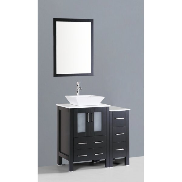 Netto 36 Single Bathroom Vanity Set with Mirror by Ebern Designs