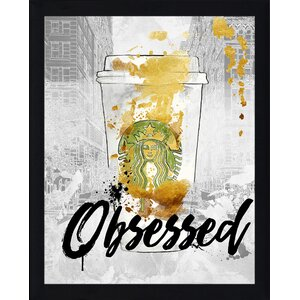 'Obsessed' Graphic Art Print by Picture Perfect International