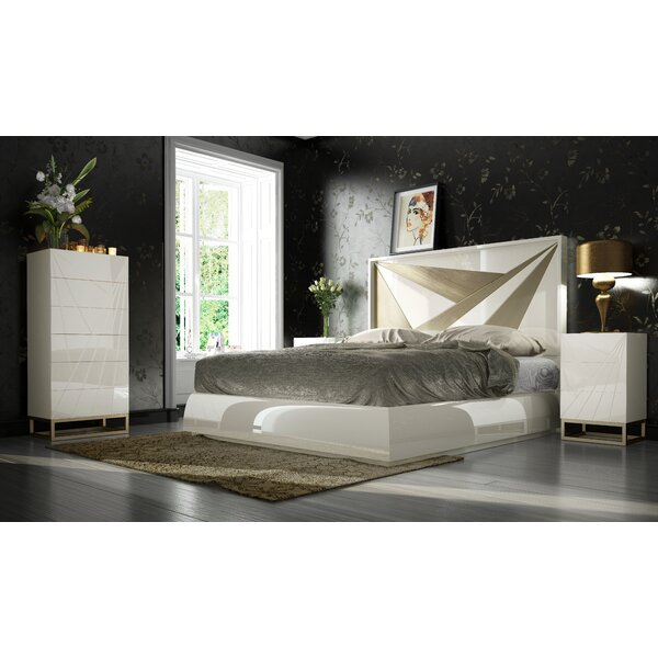 Helotes Platform 4 Piece Bedroom Set by Orren Ellis