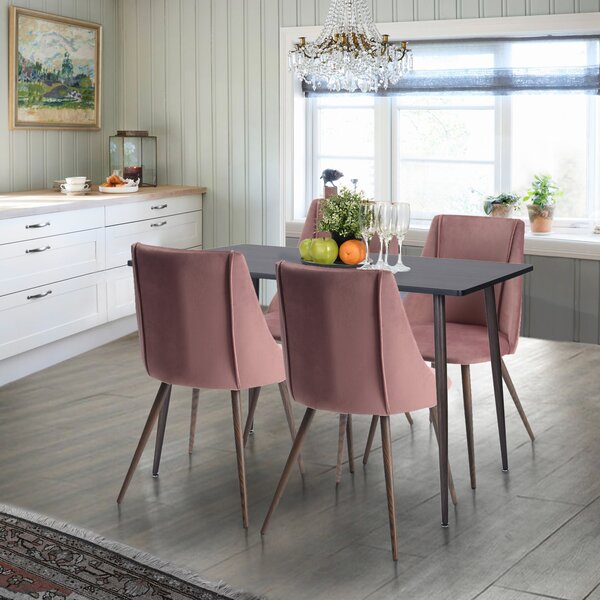 Mosses 5 Piece Dining Set by Wrought Studio