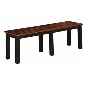 Manassa Wood Bench by Loon Peak