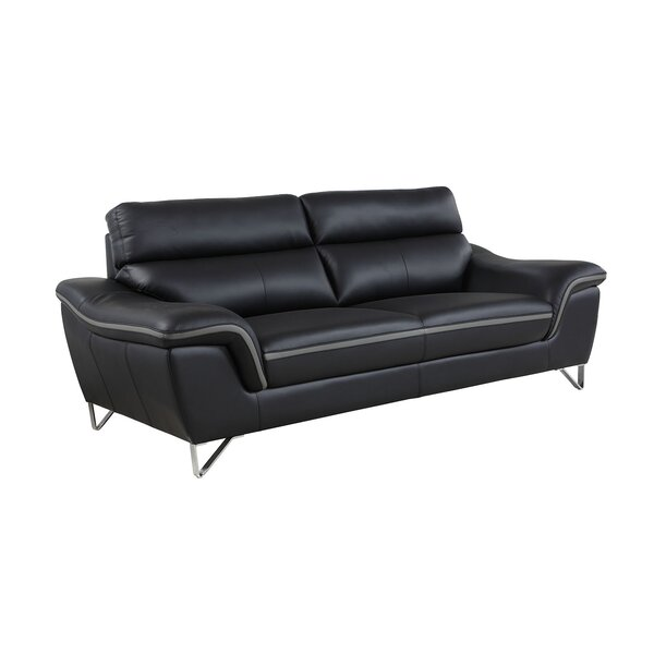 Hawks Luxury Upholstered Living Room Sofa by Orren Ellis