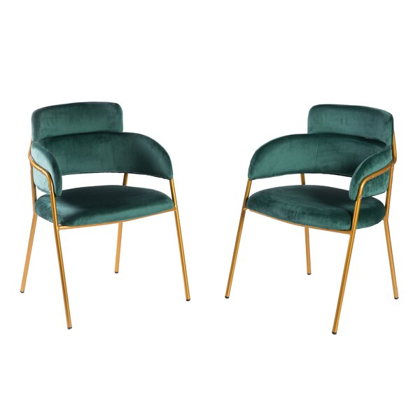 Durkin Barrel Chair (Set of 2) by Everly Quinn