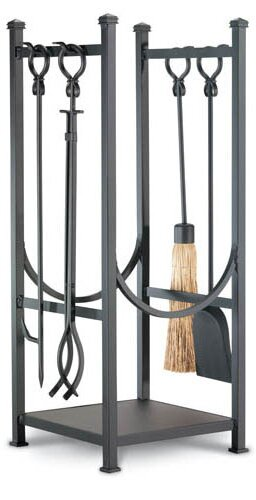 Contemporary Hearth Center 5 Piece Fireplace Tool Set by Pilgrim Hearth