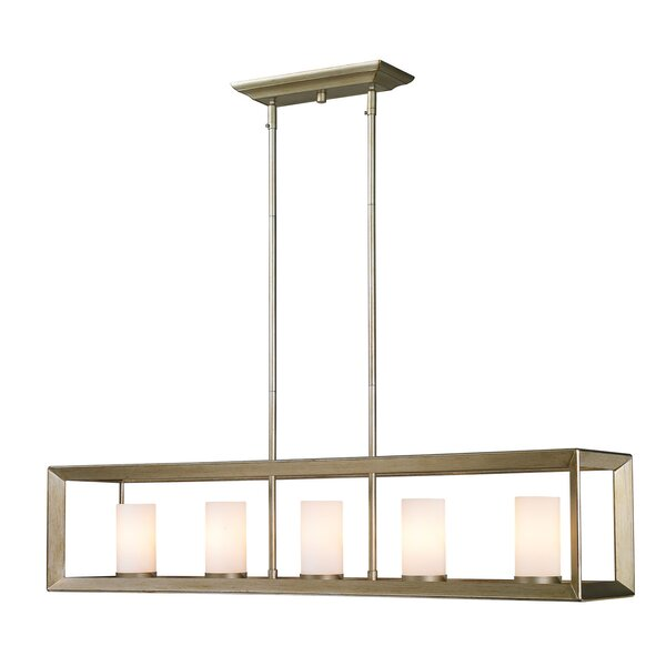 Thorne Modern 5-Light Kitchen Island Pendant by Three Posts