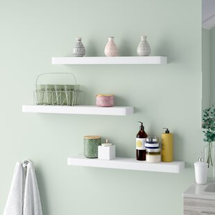 Maine Floating Wall Shelf Set Of 3