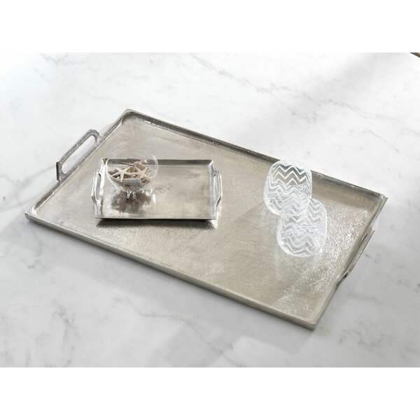 Barbuda Serving Tray with Handles by Zodax