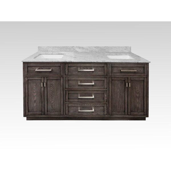 Degraff 72 Double Bathroom Vanity Set by Latitude Run