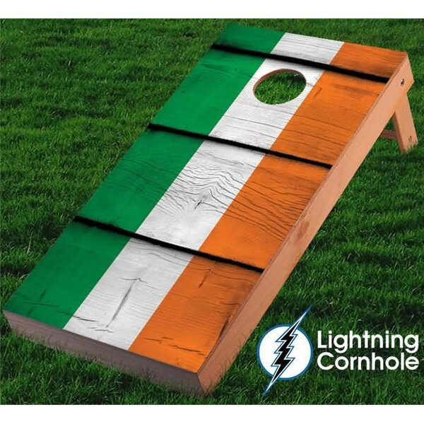 Ireland Cornhole Board by Lightning Cornhole