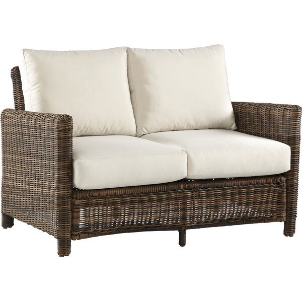 Younkin Loveseat with Cushions by Bay Isle Home Bay Isle Home