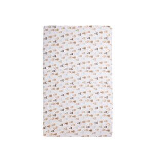 Read Reviews Bears 100% Cotton Muslin Fitted Crib Sheet By efactorytomedotcom
