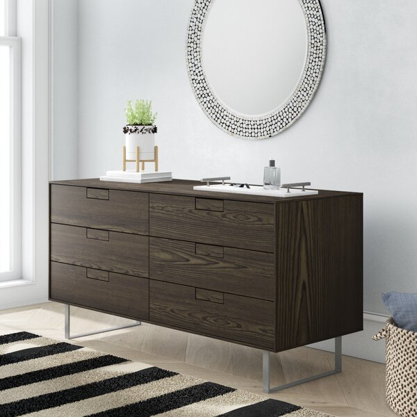 Series 11 6 Drawer Double Dresser by Blu Dot