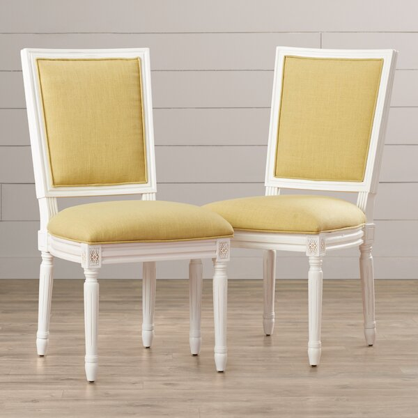 Stalvey Upholstered Dining Chair (Set of 2) by Lark Manor
