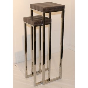 2 Piece Nesting Tables by Empire Art Direct