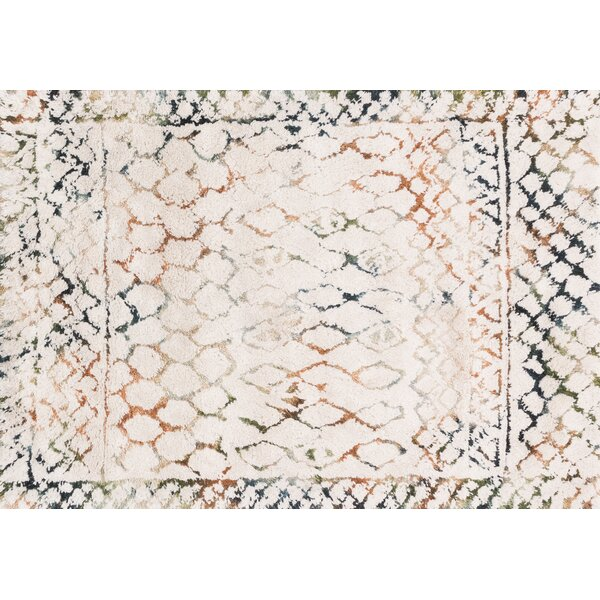 Benson Hand-Woven Ivory Area Rug by Foundry Select