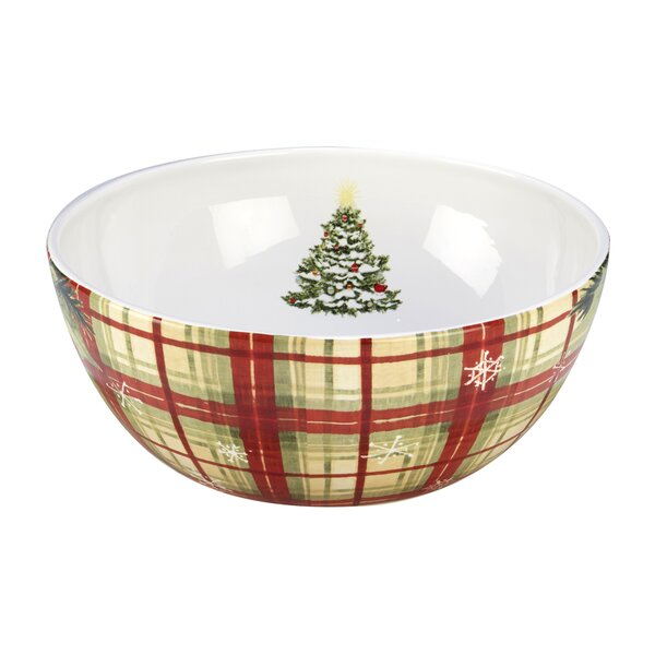 Gianna Plaid 3.5-qt. Serving Bowl by The Holiday A
